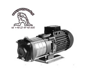 Pompa DHR2-30  M lub T wielostopniowa pompa wirowa (DHR 23)