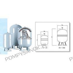 Naczynie wzbiorcze DS 8 CE - 8 litrów Pompy i hydrofory