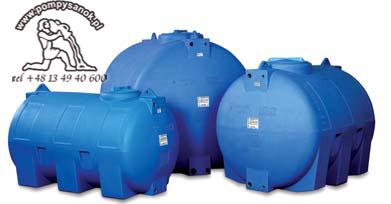 Zbiornik polietylenowy CHO-1000 ELBI