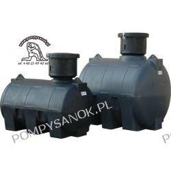 Zbiornik polietylenowy CHU-2000 ELBI - do instalacji podziemnej Pompy i hydrofory
