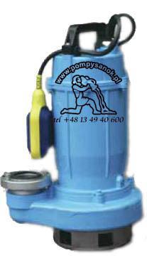 Pompa zatapialno - œciekowa do brudnej wody WQ 10-10-0,55 economic