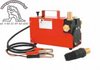 P 1224/45-60 Pompa powierzchniowa do oleju napędowego i opałowego zasilana akumulatorowo 12V i 24V