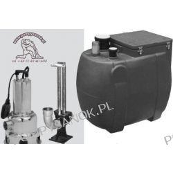Przepompownia ścieków VS 200 S-P 300 M - 230V lub T - 400V Pompy i hydrofory