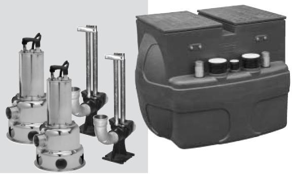 Przepompownia œcieków VS 500 TWIN-P 460T 400V lub M 230V
