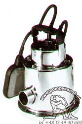 Pompa zatapialna DRENOX 80/7- AUT z wirnikiem norylowym FLOTEC