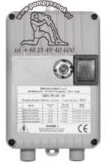 QES PLUS 10/37 M (silnik max. 0,37KW)