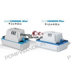 Sanicondens PLUS pompa do odprowadzania skroplin z kotłów kondensacyjnych, klimatyzatorów, urz. chłodniczych