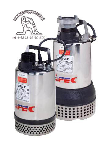 FS 400 - AFEC pompa odwodnieniowa dla budownictwa Hmax - 11m, wydajnoœć do 233 l/min