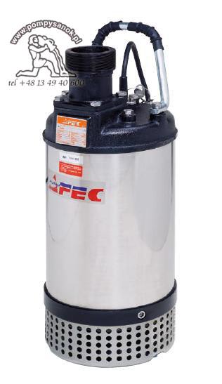 FS 315 T - 400V - AFEC pompa odwodnieniowa dla budownictwa Hmax - 16m, wydajnoœć do 650 l/min