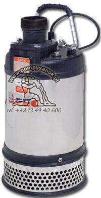 FS 237 - AFEC pompa odwodnieniowa dla budownictwa Hmax - 35m, wydajnoœć do 500 l/min
