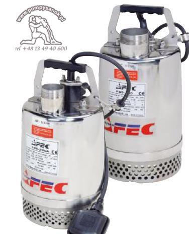 FSS 400 - AFEC pompa odwodnieniowa ze stali kwasoodpornej Hmax - 11, wydajnoœć do 233 l/min