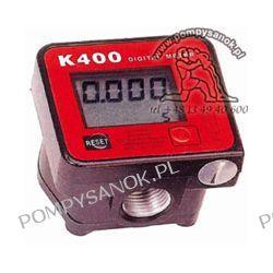 Elektroniczny licznik do oleju K400 z wyświetlaczem Pompy i hydrofory