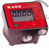 Elektroniczny licznik do oleju K400 z wyœwietlaczem
