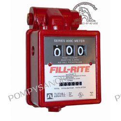 Licznik mechaniczny do benzyny (ATEX) 3-cyfrowy 806CLX418