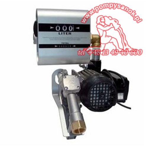 Pompa łopatkowa do oleju napędowego DRUM TECH z Miernikiem