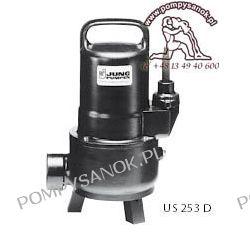 Pompa zatapialna  US 253 D(S) 400V do wody z zanieczyszczeniami do 40mm