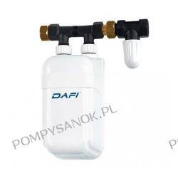 Elektryczny przepływowy podgrzewacz Dafi IPX4 ; 5,5kW(230V); 7,5kW(400V); 9kW(400V)