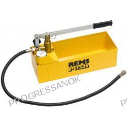 Pompa kontrolna do sprawdzania ciśnienia i szczelności z manometrem REMS - do 60 bar