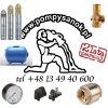 Zestaw głębinowy Pompa SKM 150 230V ze zbiornikiem hydroforowym 50l + akcesoria