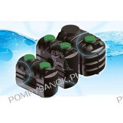 Zbiornik PEHD na wodę pitną Sotralentz W-214 pojemność 2500 l