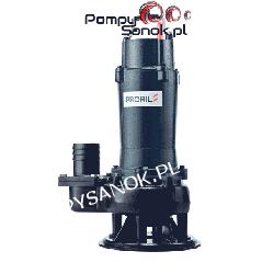 Pompa ściekowa z wirnikiem VORTEX i AGIGATOREM GOVOX-S 322