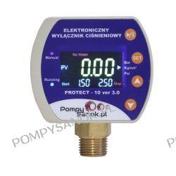 Elektroniczny wyłącznik ciśnieniowy EWC PROTECT 10 wer.3.0 z zabezpieczeniem przed suchobiegiem i przeciążeniem