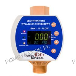 Elektroniczny wyłącznik ciśnieniowy EWC PROTECT 10 - FLOW z zabezpieczeniem przed suchobiegiem i przeciążeniem