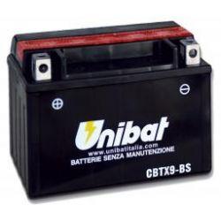 akumulator KYMCO Heroism,Jockey 125 Fi,MOVIE,MOVIE 125,Racing,Racing 125,Racing 150 CBTX9-BS UNIBAT 8Ah 120A 12V ...
