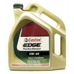 OLEJ CASTROL EDGE 5W-40 Turbo Diesel 5L W40  5L  SYNTETYK, SYNTHETIC Wrocław...