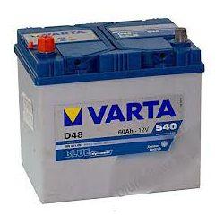 AKUMULATOR VARTA BLUE 60Ah 540A D48 NISSAN 200SX 280 ZX BLUEBIRD LAUREL PICK UP SERENA SILVIA STANZA URVAN VANETTE...