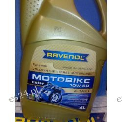 RAVENOL Motobike 10W-50 Ester 4l Suzuki,Ducati ,Triumph...