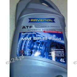 RAVENOL ATF MM SP-III Fluid 4l 450000110,450000110,4024610B