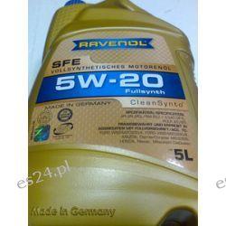 olej silnikowy RAVENOL Super Fuel Economy SFE SAE 5W-20 5W20 5l Chrysler ,Toyota