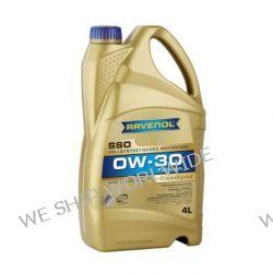 olej silnikowy RAVENOL SSO 0W-30 0W30 4l API SN/CF, ACEA A3/B4