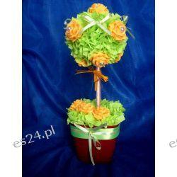 Zielona lula z różami