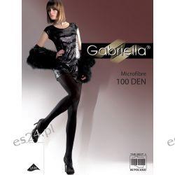 Rajstopy Gabriella Microfibre 124 100 den r.5 ,polski produkt