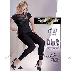 GABRIELLA: LEGGINGS 100 PLUS - Legginsy damskie z mikrofibry r.5/6
