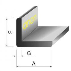 Kątownik kątowniki aluminowe aluminiowy 12x12x1,5