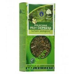 Polecana przy depresji herbata Eko Dary Natury