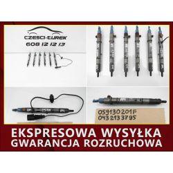 WTRYSK WTRYSKI AUDI A4 B6 2.5 TDI AKE  059130201F
