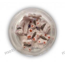 Ozdoby ceramiczne 3D - MOTYLEK 2 - kolor 22