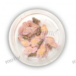 Ozdoby ceramiczne 3D - MOTYLEK 1 - kolor 13