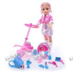 Lalka Z Dzieckiem, Wózek + Akcesoria