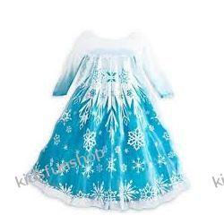 Kostium karnawałowy Elza, Lux Blue, Frozen - Kraina Lodu