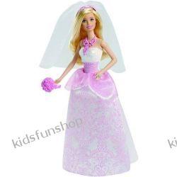 Lalka Barbie jako Panna Młoda.