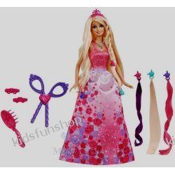 Barbie Bajeczne fryzury księżniczki
