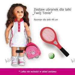 Zestaw ubranek dla lalki Twój Tenis