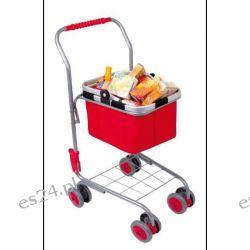 Wózek sklepowy kosz z zakupami