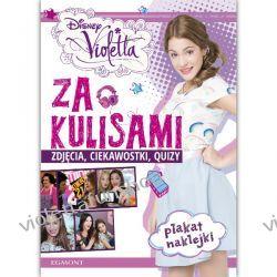 EGMONT Książka Violetta Za Kulisami