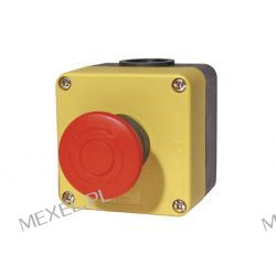 IDEC  HW1X-BV402-R  EMERGENCY STOP SWITCH, DPST-NC, 250VAC